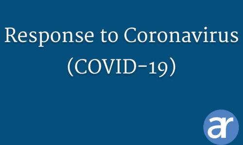 COVID-19 Resonse header